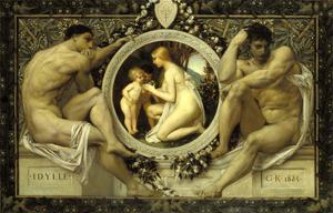 Idyll, 1884 by Gustav Klimt