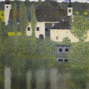 Kammer Castle on Lake Attersee I, 1908 by Gustav Klimt