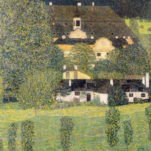 Kammer Castle on Lake Attersee II, 1909 by Gustav Klimt