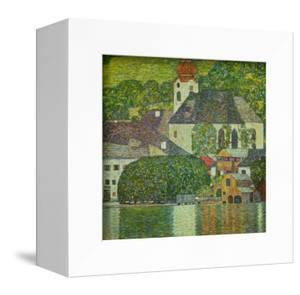 Kirche in Unterach am Attersee - Church in Unterach on Attersee-Lake by Gustav Klimt
