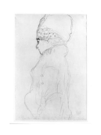 Lady with a Tall Hat, c.1917