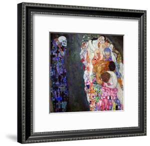 Life and Death (Tod Und Leben) by Gustav Klimt