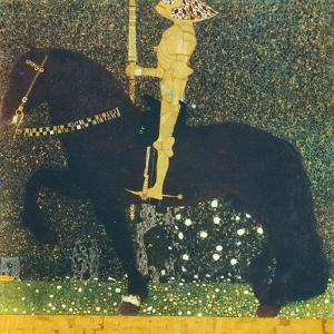 Life Is a Struggle (The Golden Knight) 1903 by Gustav Klimt