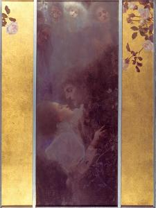 Love, 1895 by Gustav Klimt