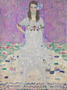 Mada Primavesi (1903-2000), 1912-13 by Gustav Klimt