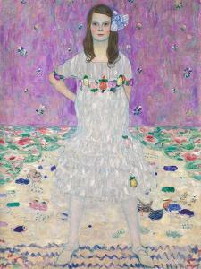 Mäda Primavesi (1903?2000). 1912 by Gustav Klimt