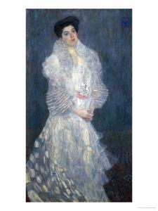 Mrs. Hermine Gallia by Gustav Klimt