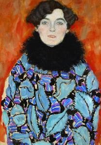 Mrs. Johanna Staude by Gustav Klimt