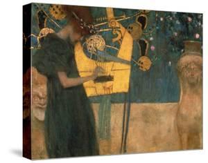 Music, 1895 by Gustav Klimt