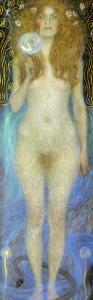 Nuda Veritas, Nude Veritas, 1899 by Gustav Klimt