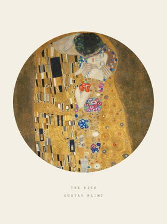 Old Masters, New Circles: The Kiss, c.1907 by Gustav Klimt