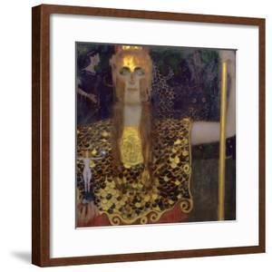 Pallas Athena, 1898 by Gustav Klimt
