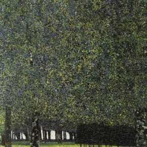 Park by Gustav Klimt