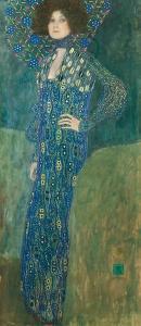 Portrait de Emilie Flge by Gustav Klimt