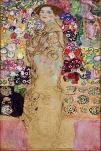 Portrait of a Lady, 1917-18 by Gustav Klimt