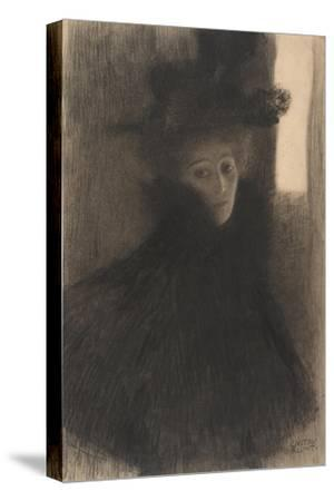Portrait of a Lady with Cape and Hat, 1897-1898