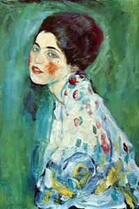 Portrait of a Lady by Gustav Klimt