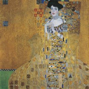 Portrait of Adele Bloch-Bauer I, 1907 by Gustav Klimt