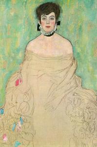 Portrait of Amalie Zuckerkandl by Gustav Klimt