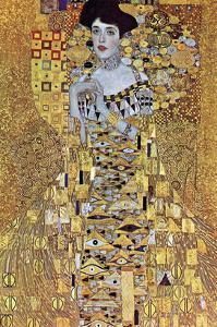Portrait of Block-Bauer by Gustav Klimt