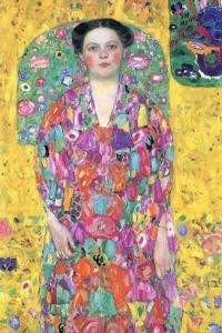 Portrait of Eugenia (M�) Primavesi by Gustav Klimt