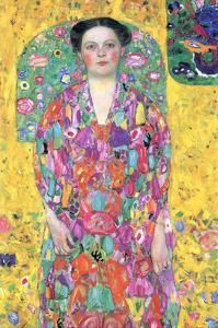Portrait of Eugenia (Mäda) Primavesi by Gustav Klimt