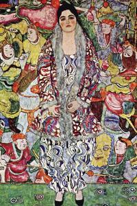 Portrait of Frederika Maria Beer by Gustav Klimt