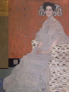 Portrait of Fritza Riedler, 1906 by Gustav Klimt