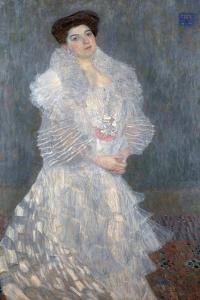 Portrait of Hermine Gallia (1870-1936) 1904 by Gustav Klimt