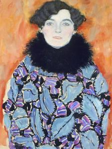 Portrait of Johanna Staude, 1917-1918 by Gustav Klimt