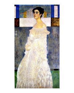 Portrait of Margaret Stonborough-Wittgenstein by Gustav Klimt