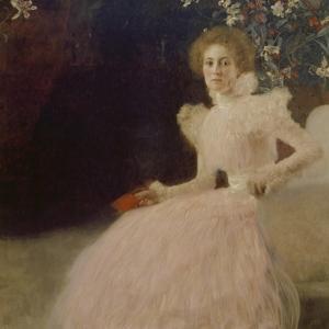 Portrait of Sonja Knips, 1898 by Gustav Klimt