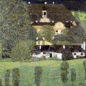 Schloss Kammer Am Attersee II, 1909 by Gustav Klimt