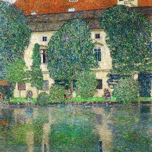 Schloss Kammer on Lake Attersee III, 1910 by Gustav Klimt