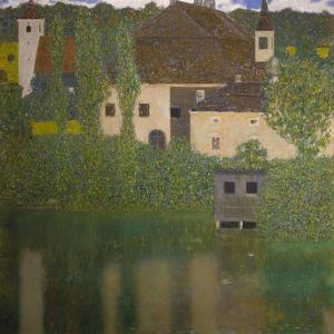Schloss Kammer on the Attersee (I), 1908 by Gustav Klimt