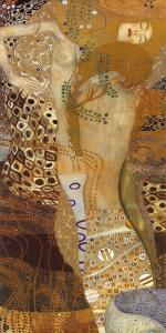 Sea Serpents II, c.1907 by Gustav Klimt