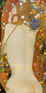 Sea Serpents IV, c.1907 by Gustav Klimt