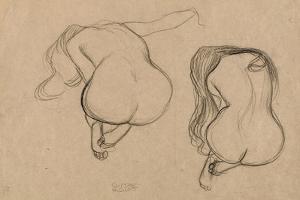 Seated Nude, C1901 by Gustav Klimt