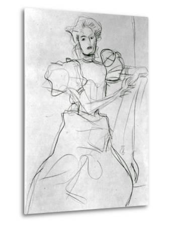 Seated Woman - Study for a Portrait of Sonja Knips, C.1898
