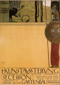 Secession, c.1898 by Gustav Klimt