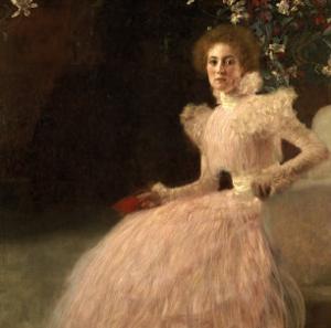 Sonja Knips, 1898 by Gustav Klimt