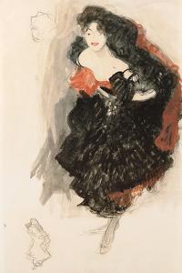 Study for Judith II, C. 1908 by Gustav Klimt
