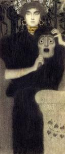 Study for the Allegory of Tragedy by Gustav Klimt