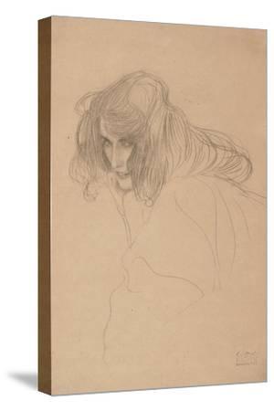 Study of a Woman's Head in Three-Quarter Profile, C.1901-1902