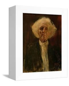 Study of the Head of a Blind Man by Gustav Klimt