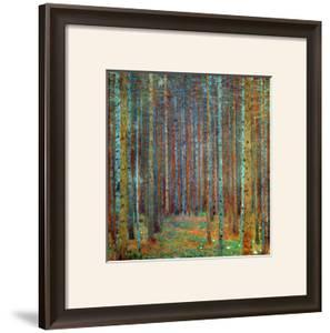 Tannenwald (Pine Forest), 1902 by Gustav Klimt