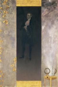 The Actor Josef Lewinsky as Carlos in Goethe's Clavigo, 1895 by Gustav Klimt