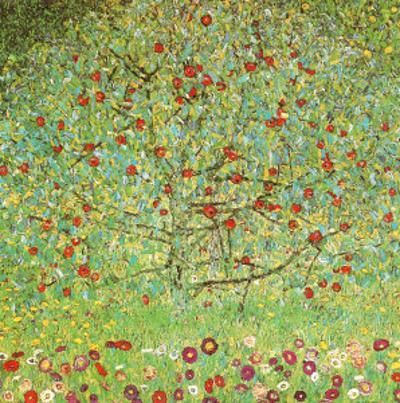 The Apple Tree by Gustav Klimt