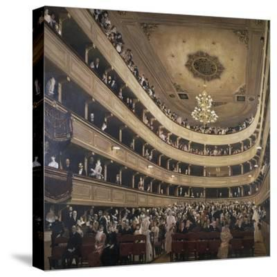 The Auditorium of the Old Castle Theatre, 1887/88