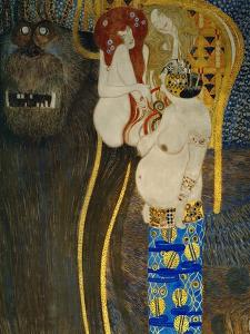 The Beethoven Frieze 1902 by Gustav Klimt